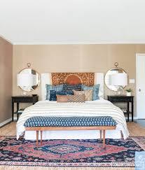 image of rug under bed in corner rug size winrecom make it work beds in
