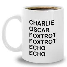 Learn to spell your name in morse code and send sos. Phonetic Alphabet Coffee Mug Amateur Ham Cb Radio Operator Etsy