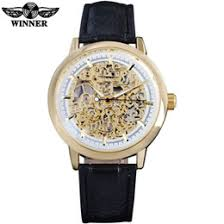 discount popular watch brands for men 2017 popular watch brands whole 2016 winner famous popular hot mechanical brand for men man fashion casual classic skeleton watches gold white dial leather band discount popular