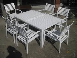 white iron garden furniture. White Metal Patio Table And Chairs Iron Garden Furniture U