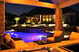 Perfect Home Swimming Pools At Night Modern Minimalist Outdoor Pool Interior Design On Inspiration