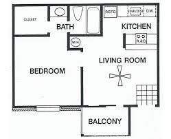 bedroom floor plan. Plain Bedroom One Bedroom  Floor Plan A Inside