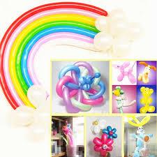 <b>5pcs</b> 30cm <b>Latex</b> Long Balloon Magic Air Strip Ballooon <b>Latex</b> ...