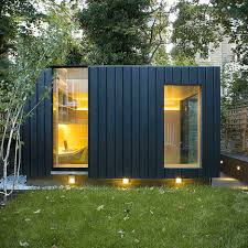 outside office shed. Garden Room By Neil Dusheiko Features Walls Of Charred Cedar Outside Office Shed