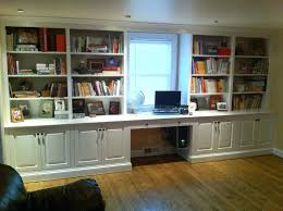 desk and built in shelves with book storage and craft shelving for cool mens bedroom furniture design fabulous built in custom built home office uk