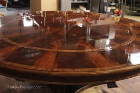 extra large round mahogany dining table american finished tables will capture light and hold up to family gatherings better than any other