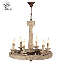 china retro american simple style chandelier pendent lamp villa decorative e14 lampholder wooden hanging lamp china retro lamp chandelier pendent lamp