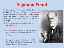 psychoanalytical criticism 3 sigmund freudpsychoanalytical criticism
