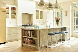 open kitchen island kitchen island with open shelves and seating