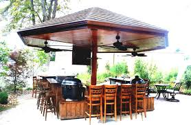 outdoor bar furniture as the best patio exterior design in 2016