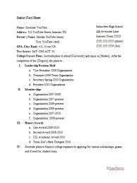 Fact Sheet Examples Templates