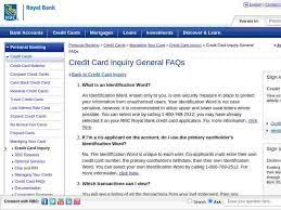 rbc visa inquiry login official login