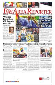July 2 2015 Edition of the Bay Area Reporter by Bay Area Reporter.