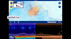 Sonarchart Live And Raymarine 2015