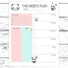Weekly Planner Online Printable 2017 Weekly Planner Printable November Arlingtonmovers Co