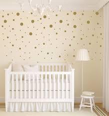 Gold Dot Decals   Polka Dot Wall Decal   Gold Vinyl Dots   Gold Nursery  Decor