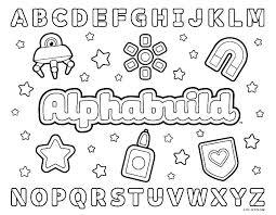Alphabet Coloring Pages Pdf Alphabet Coloring Page Alphabet Coloring