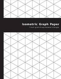 Isometric Graph Paper 1 Inch Grid Of Equilateral Triangle