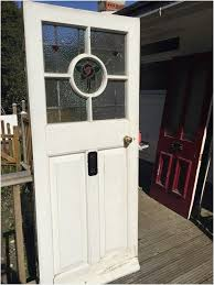 front doors with stained glass warm victorian stained glass front door reclaimed period antique