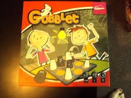 Wooden Board Games Uk IDEAL XMAS FAMILY WOODEN BOARD GAME GOBBLET GIGAMIC COMPLETE VGC 71
