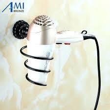 wall mount hair appliance holder blow dryer salon tool iron