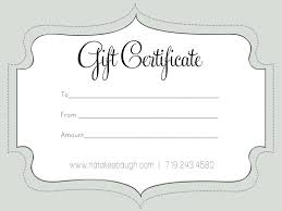 Editable Gift Certificate Template Free Printable Gift Certificate Templates Best Template Editable 1
