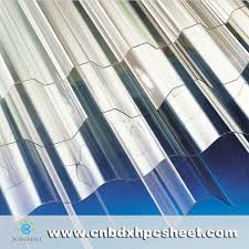 clear plastic roof panels sheet polycarbonate corrugated sheet