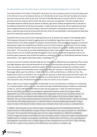 Modern History Usa Topic Essay Year 12 Hsc Modern