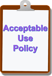 Image result for what should an acceptable use policy contain