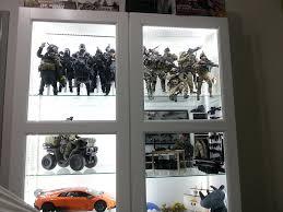 image of ikea besta cabinet glass door