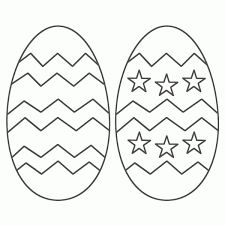 Easter Egg Coloring Pages Free Printable Easter Egg Coloring Pages