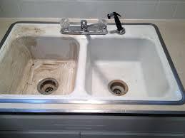 Photos - Reglaze kitchen sink