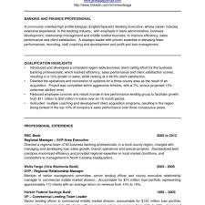 Investment Banking Resume Template Sample Cv For Banking Sector Fieldstationco Investment Resume 72