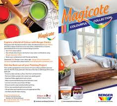 Berger Magicote Paint Chart Trinidad Explore Beautiful New Colours In Berger Magicote Whether In