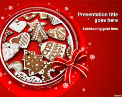 Free Christmas Baking Powerpoint Template