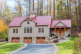 small barn style house plans garage