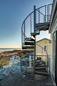 outdoor spiral stairs canada. stone harbor, jersey shore oceanfront exterior design - spiral staircase on porch deck outdoor stairs canada
