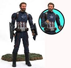 DIAMOND SELECT TOYS Marvel <b>Avengers Infinity War Captain</b>