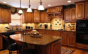 New kitchen countertop trends still feature natural stones.