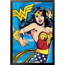 <b>Wonder Woman Wall</b> Art | Wayfair