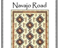 Navajo designs Tattoo Navajo Road Quilt Pattern By Whirligig Designs Wdnr domestic 1st Class Shipping Only 150 Alamy Navajo Design Etsy