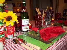 Italian Table Setting The Posh Pixie Italian Table Setting