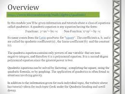 overview s khanacademy org math algebra quadratics