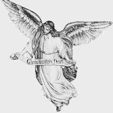 Angel Sketch Gloria Inexrelsis Dro Angel Sketch Free Image Peakpx