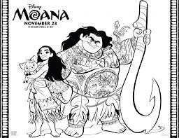 Small Picture Disney MOANA Coloring Pages This Mamas Life