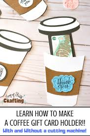 Check spelling or type a new query. Coffee Cup Gift Card Holder Template Free Pdf And Svg File Leap Of Faith Crafting