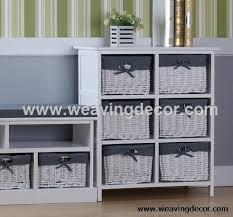 wicker basket cabinet. Modren Cabinet Wooden Storage Cabinet Wood With Wicker Baskets For Home Decor In Wicker Basket Cabinet