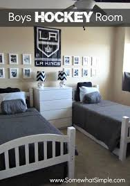 Boys Hockey Bedroom Ideas 2