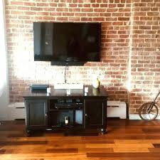 how to mount a tv on a brick wall how to hang a on a brick