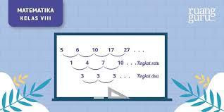 Check spelling or type a new query. Barisan Aritmatika Bertingkat Konsep Dasar Rumus Dan Contoh Soal Matematika Kelas 8